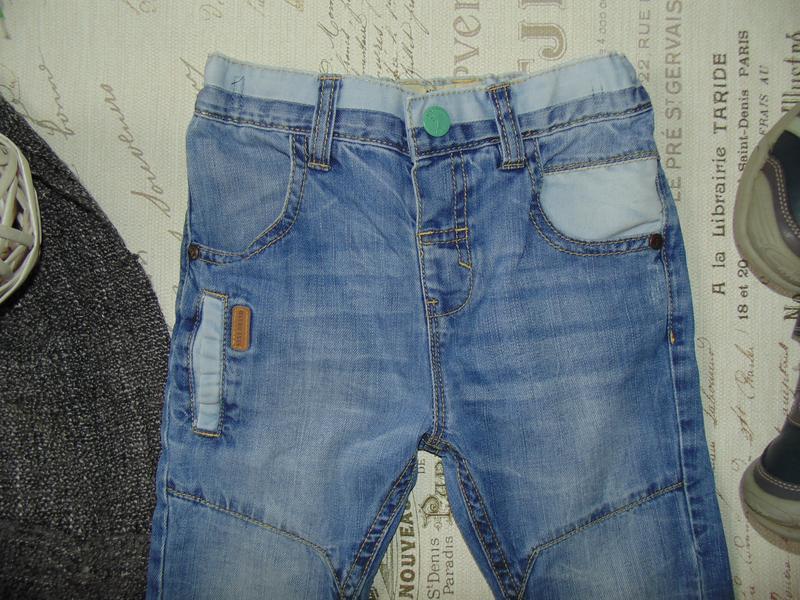 3-4года.бомбезные джинсы next .mега выбор обуви и одежды - Фото 4
