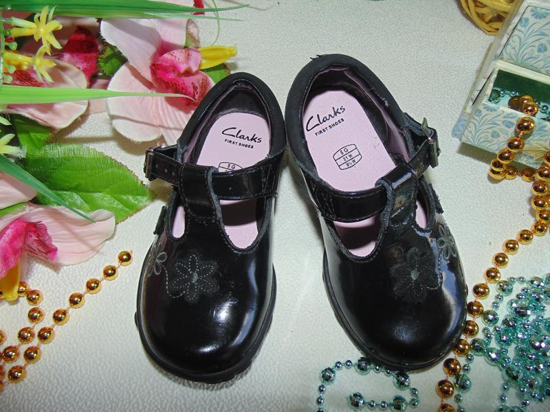Мигают.шикарные туфли clarks - Фото 2
