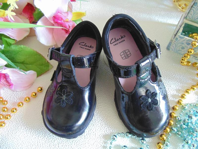 Мигают.шикарные туфли clarks - Фото 3