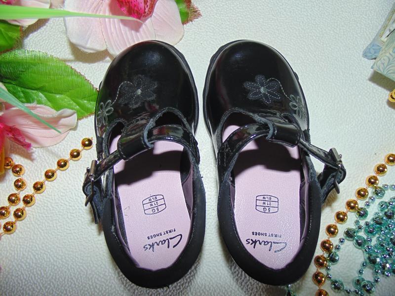 Мигают.шикарные туфли clarks - Фото 4