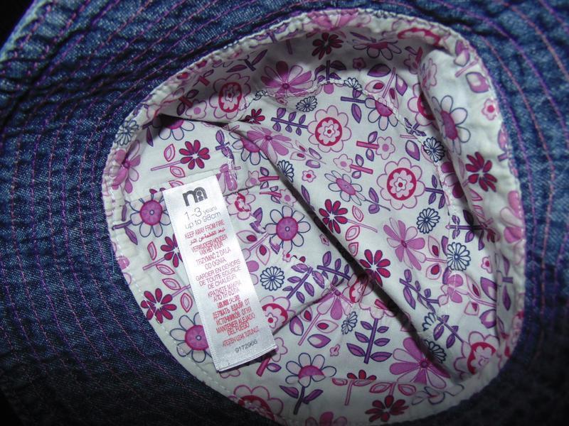 Стильная шляпка mothercare - Фото 4