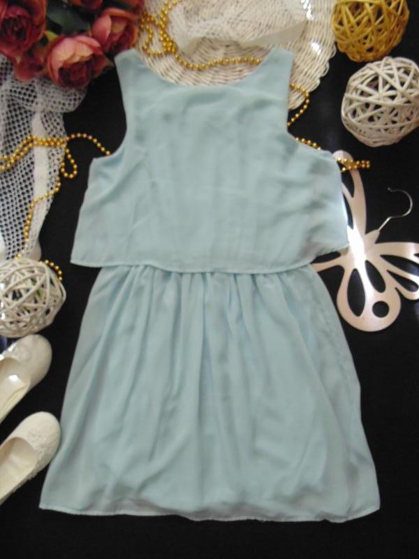 Шикарное нарядное шифоновое платье h&m.mега выбор обуви и одежды! - Фото 5