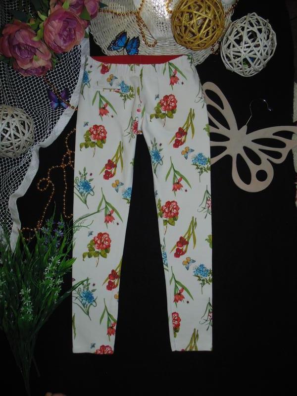 11-12лет.моднячие треггинсы zara