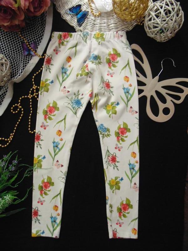 11-12лет.моднячие треггинсы zara - Фото 3