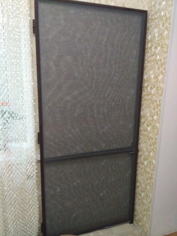 Москитная сетка новая 89х198 дверная