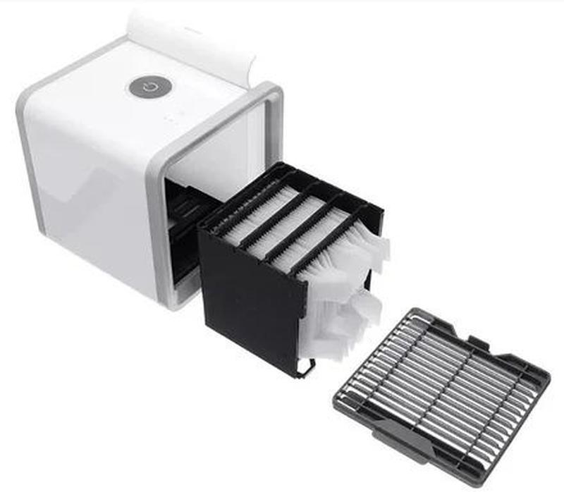 Мобильный кондиционер 4в1 увлажнитель воздуха очиститель Arcti... - Фото 4