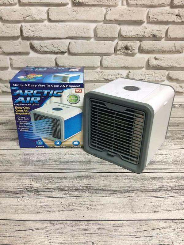 Мобильный кондиционер 4в1 увлажнитель воздуха очиститель Arcti... - Фото 7