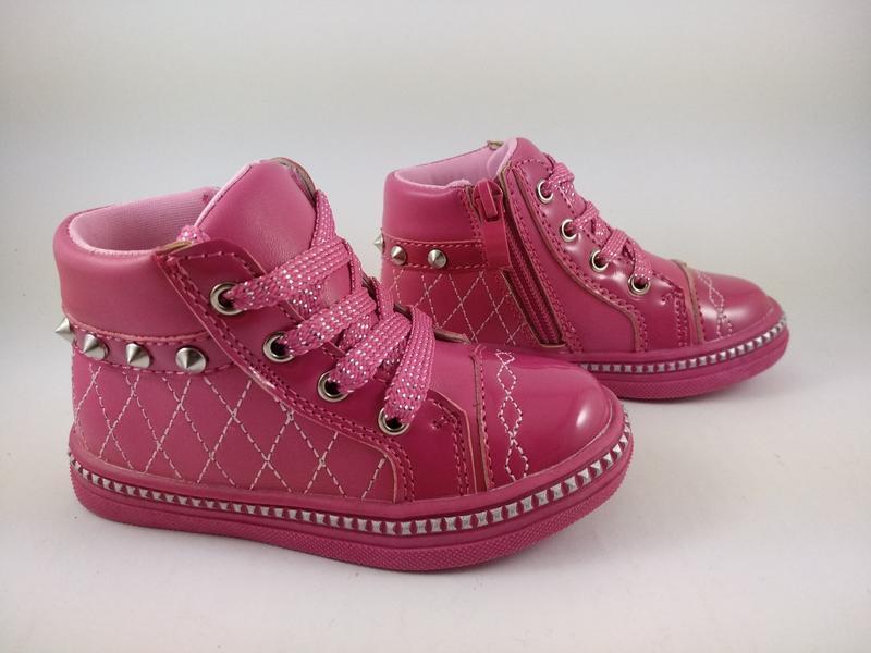 Отличные качественные демисезонные ботинки clibee 21p !!!после...