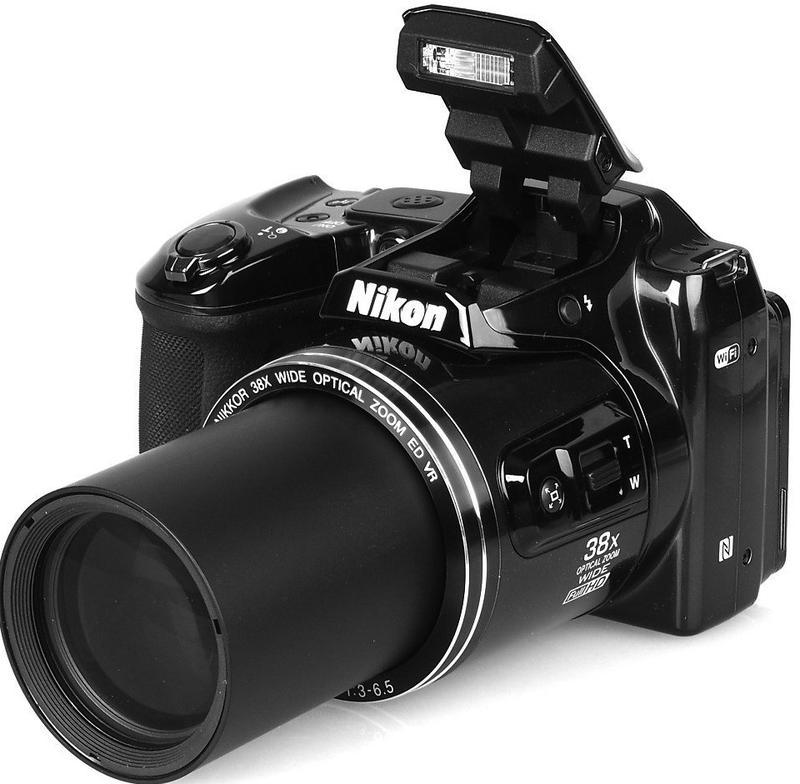 Фотоаппарат Nikon coolpix L840/Wi-fi/NFC/16Mp/FullHD.