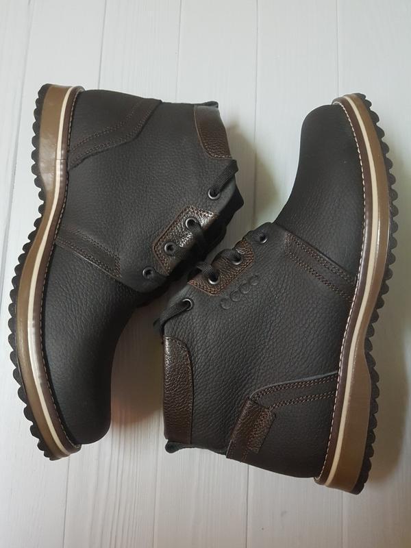 Очень крутые зимние мужские ботинки ессо 40р/41р - Фото 2