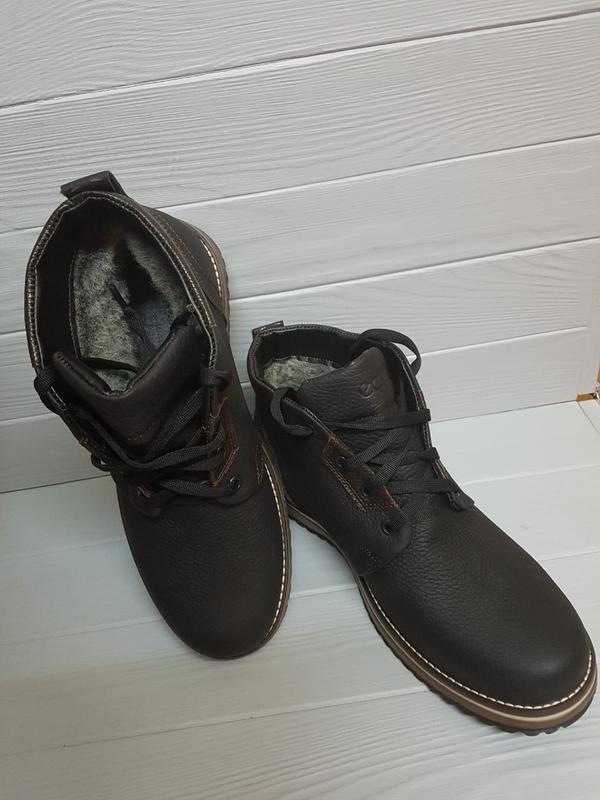 Очень крутые зимние мужские ботинки ессо 40р/41р - Фото 3