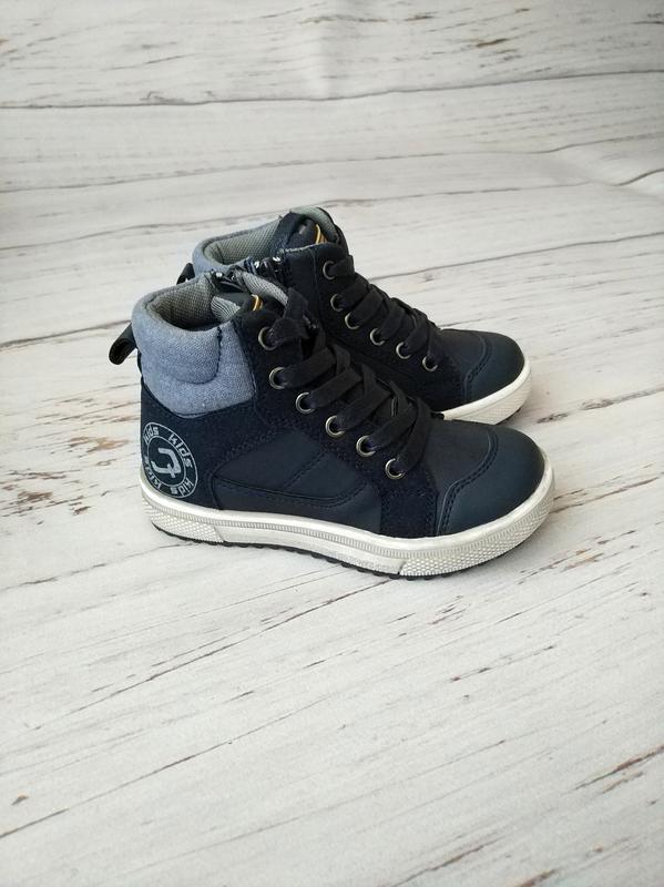 Очень стильные демисезонные ботинки для мальчиков c.луч !!!пос...