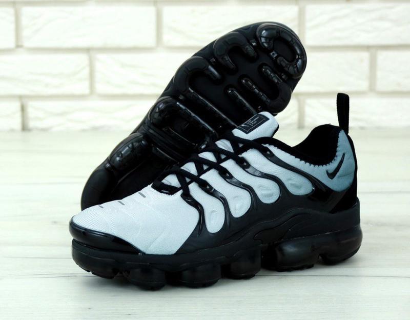 Мужские кроссовки nike vapor max light blue - Фото 2