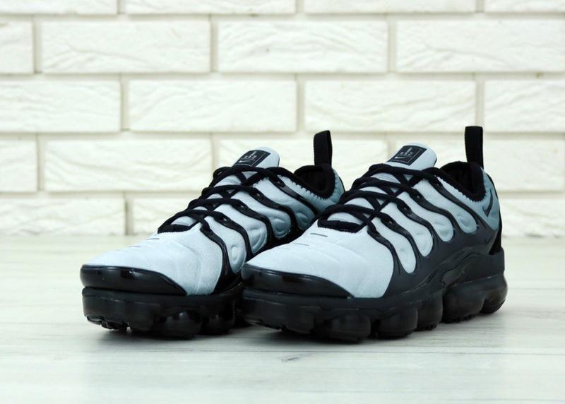 Мужские кроссовки nike vapor max light blue - Фото 5