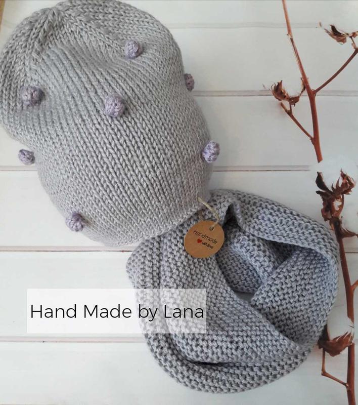 Hand made шапочка для девочки шапка для девочки снуд для девочки
