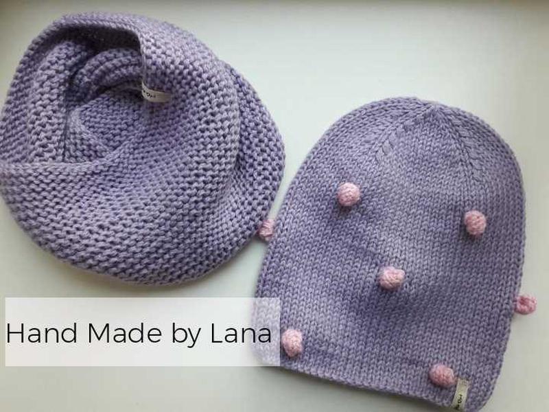 Hand made шапка для девочки осенняя шапочка для девочки