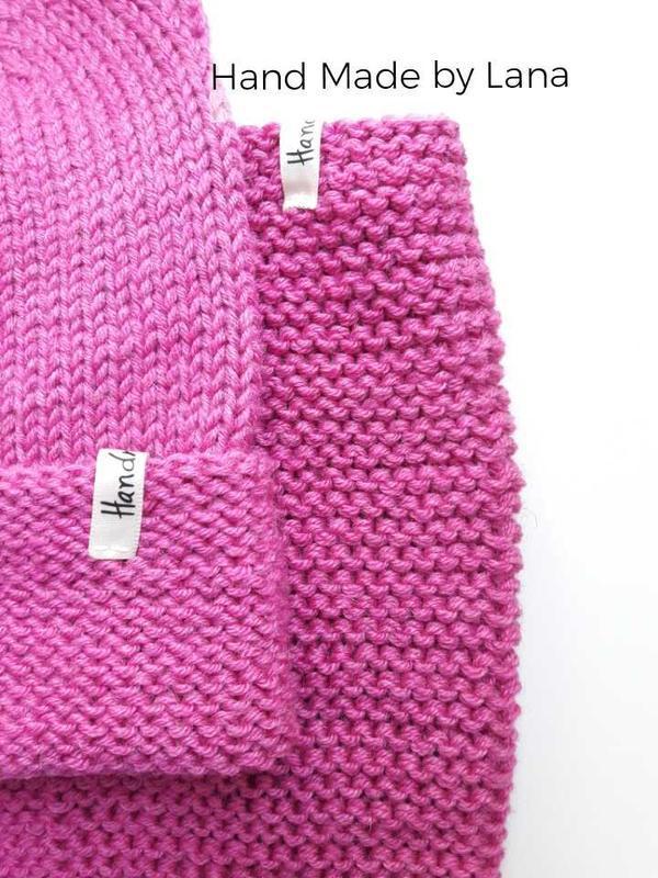Hand made  шапка для девочки снуд для девочки шарф для девочки - Фото 3
