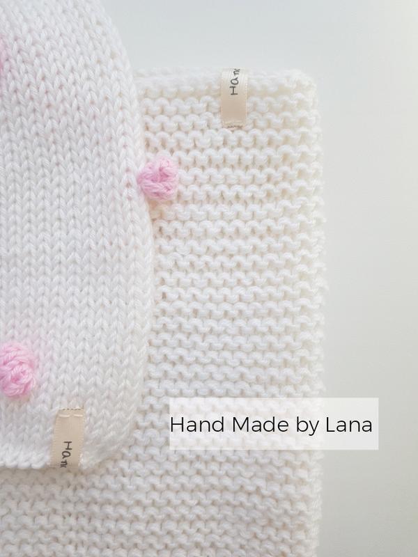 Hand made шапочка для девочки шапка детская - Фото 2