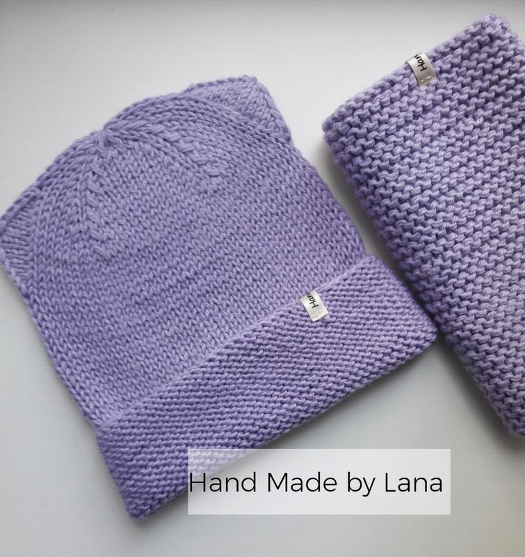 Hand made шапочка для девочки шапка детская - Фото 4