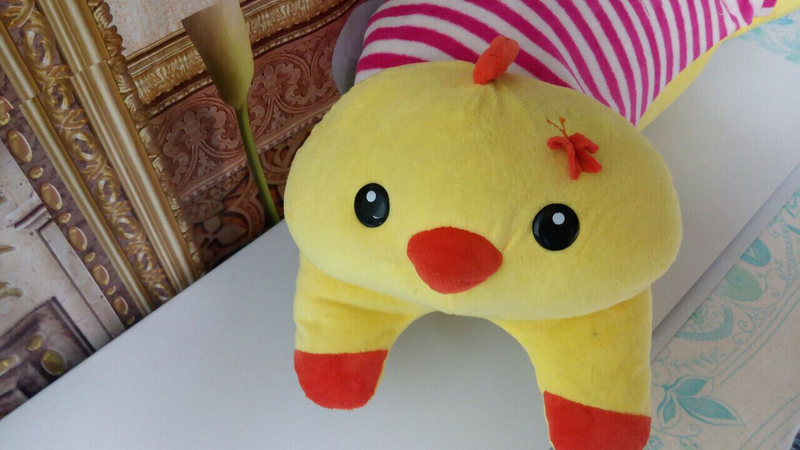 Мягкая игрушка + плед.