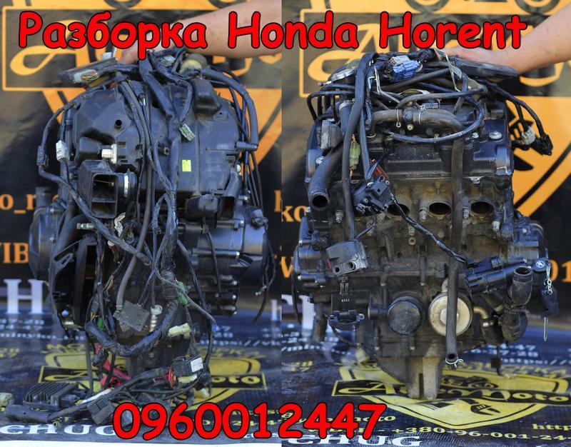 Двигатель 600cc honda hornet 600 хонда хорнет запчасти мотор 6... - Фото 4