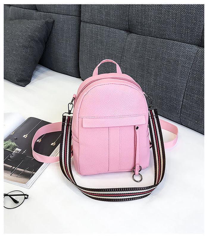 Маленький рюкзак elegant кожзам - Фото 2