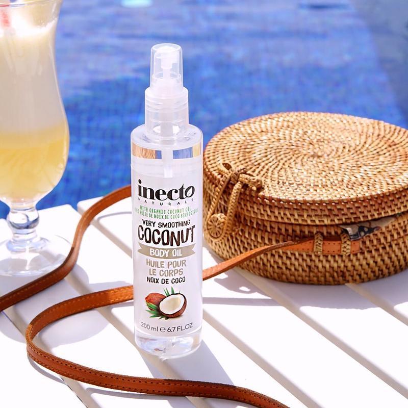 Масло для тела разглаживающее inecto naturals coconut body oil...