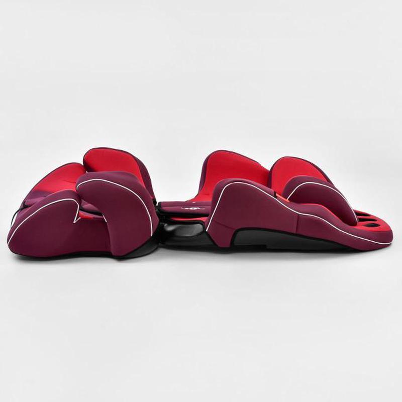 Автокресло универсальное Joy с бустером, 9-36 кг, красное