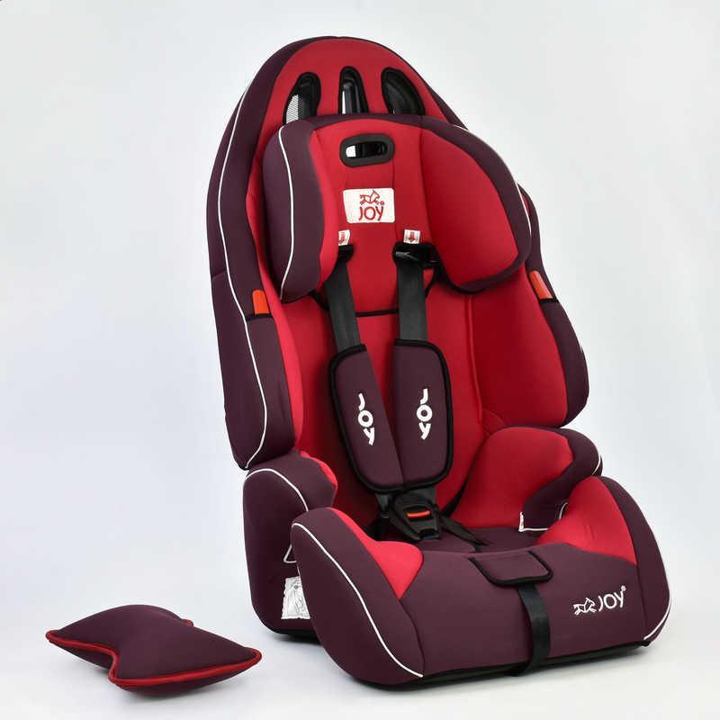 Автокресло универсальное Joy с бустером, 9-36 кг, красное - Фото 3