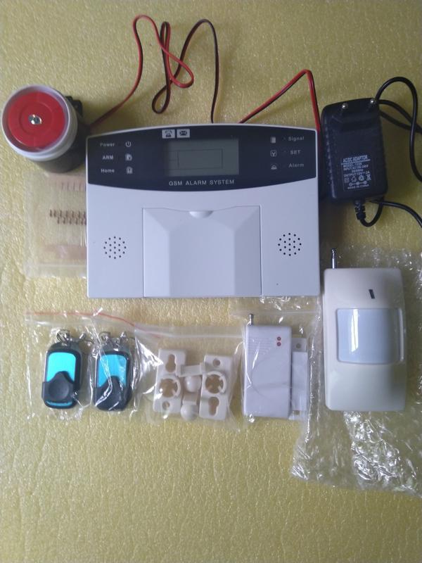 Домашняя охранная GSM сигнализация, ЗНИЖКИ,КІЛЬКІСТЬ ОБМЕЖЕНА