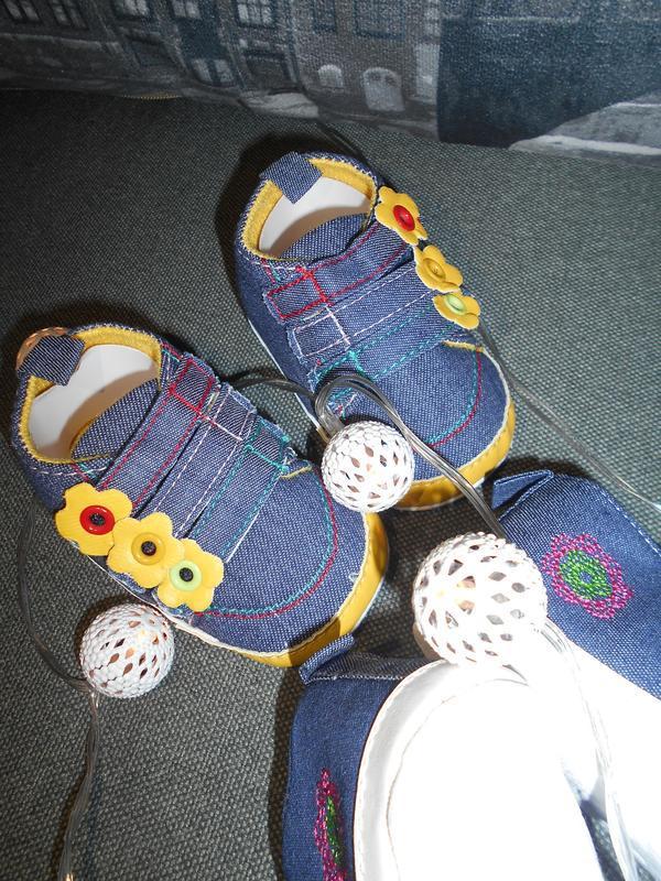 Кроссовки, пинетки на первые шаги от 0 до 18 мес - Фото 3