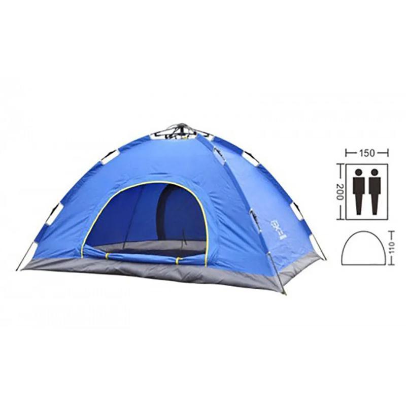 Распродажа!!! Палатка 2-х местная синяя! Количество ограничено!!!