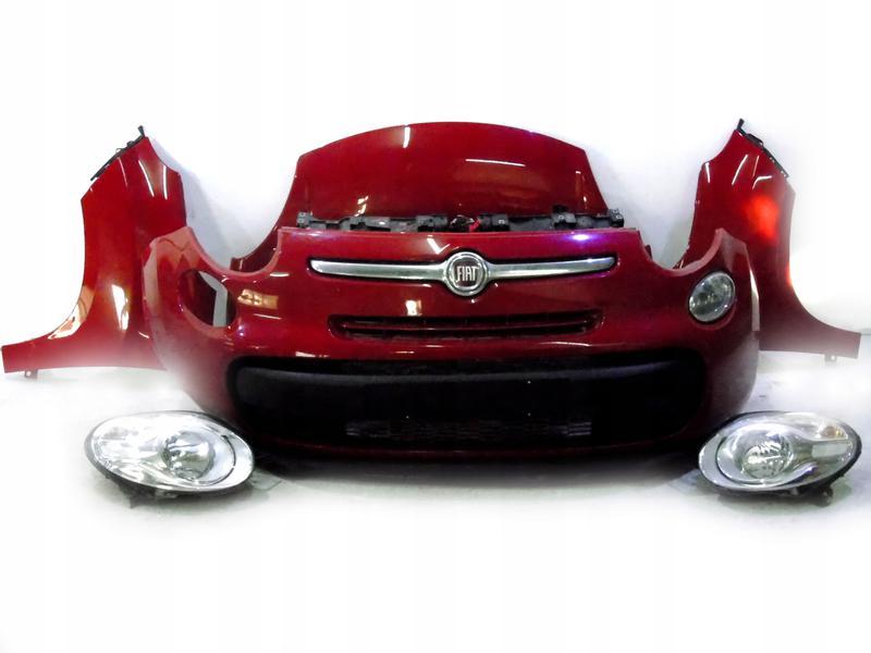 Авторазборка Fiat 500L б/у запчасти фары бампер крылья радиаторы