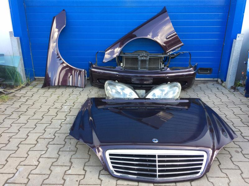 Запчасти б/у с разборки на Mercedes-Benz S-Class W220