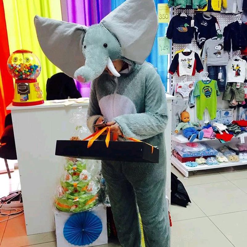 Костюм слоника, аниматор, аренда костюма