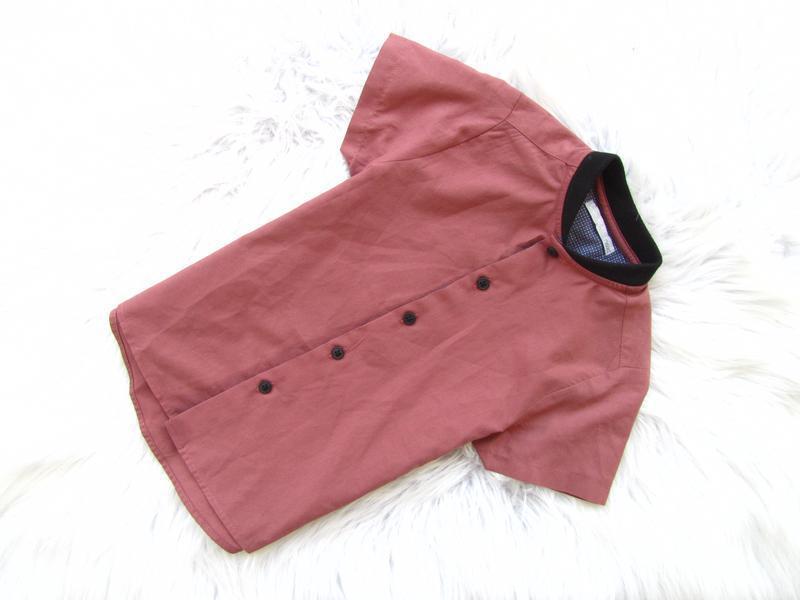 Стильная рубашка с коротким рукавом next