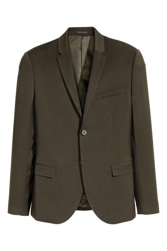 Мужской пиджак h&m , skinny fit !