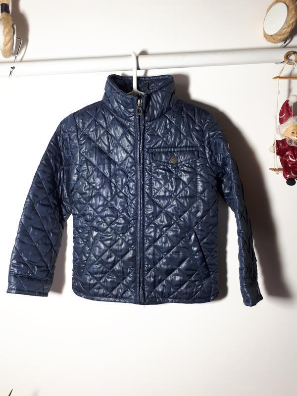 Стеганая  куртка для мальчика 2-3 лет geox