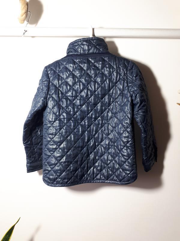 Стеганая  куртка для мальчика 2-3 лет geox - Фото 2
