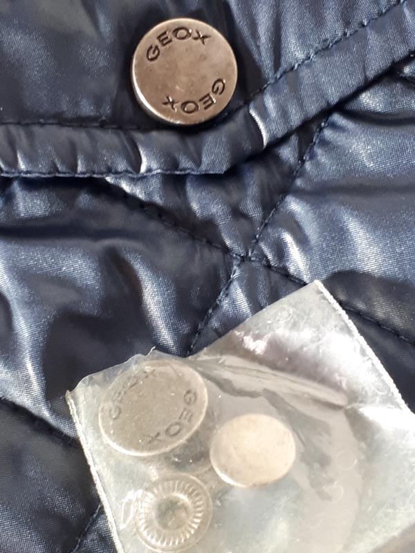 Стеганая  куртка для мальчика 2-3 лет geox - Фото 5