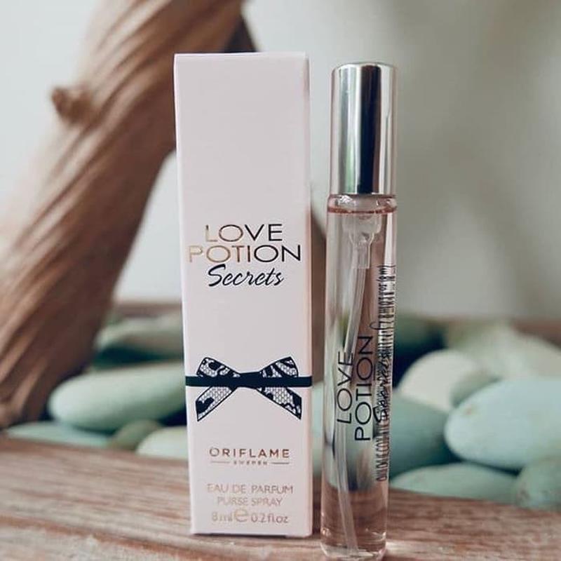 Парфюмерная вода love potion secrets. мини-спрей 8 ml