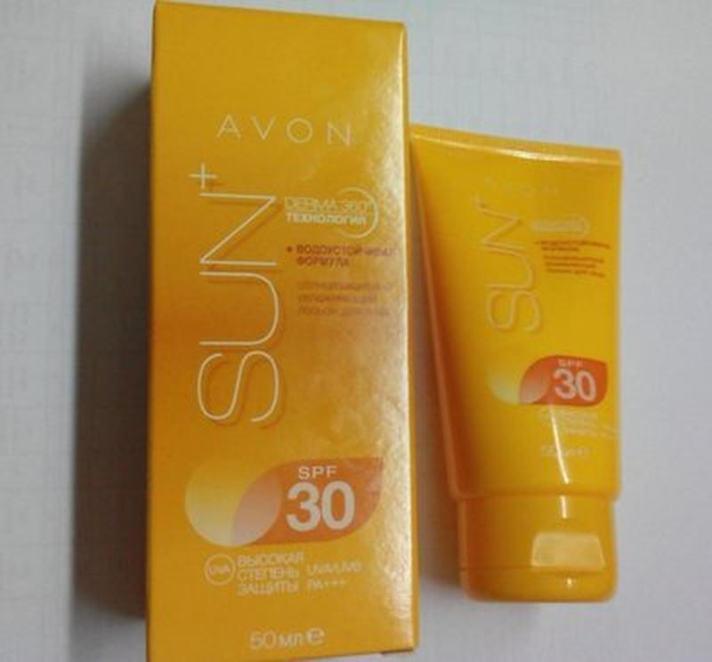 Солнцезащитный увлажняющий лосьон для лица spf 30