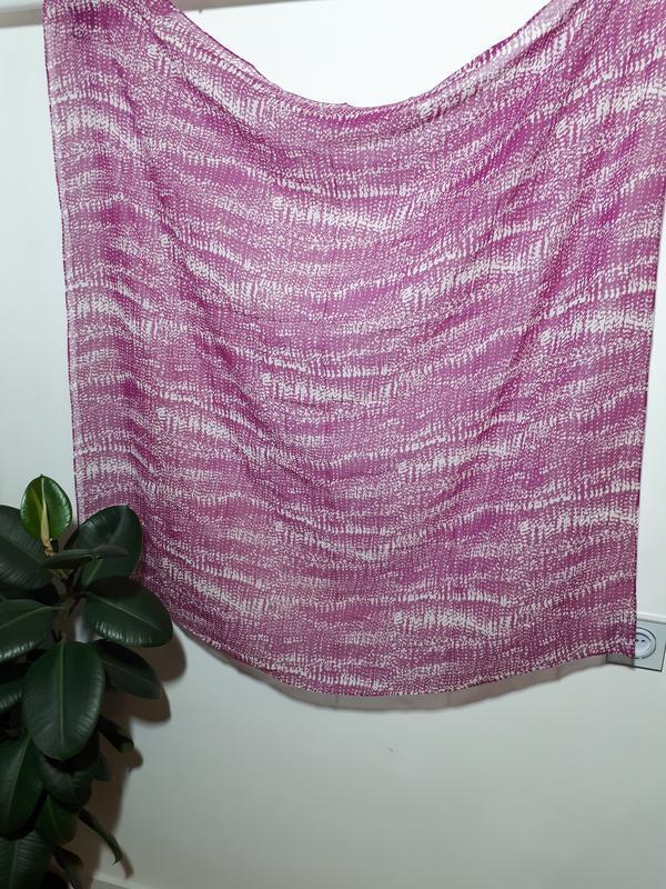 Большой шелковый платок globus - Фото 2