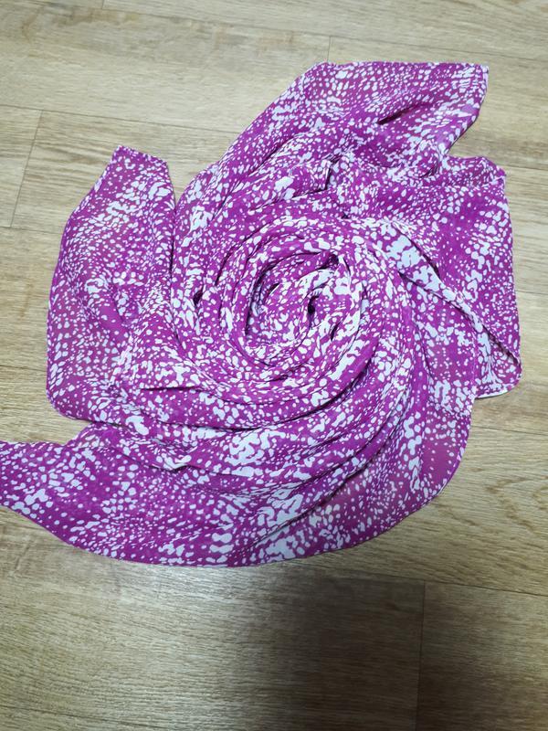 Большой шелковый платок globus - Фото 3