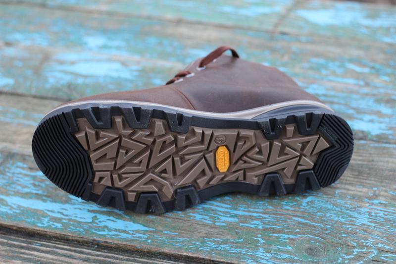 Мужские зимние ботинки чоловічі черевики из натуральной кожи.ecco - Фото 4