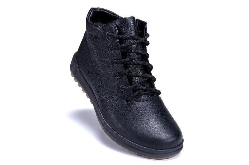 Мужские зимние ботинки (чоловічі черевики) из натуральной кожи... - Фото 2