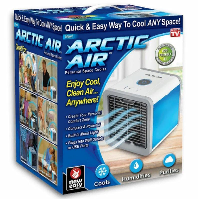 Мини-кондиционер Arctic Air Cooler с подсветкой и увлажнением - Фото 2
