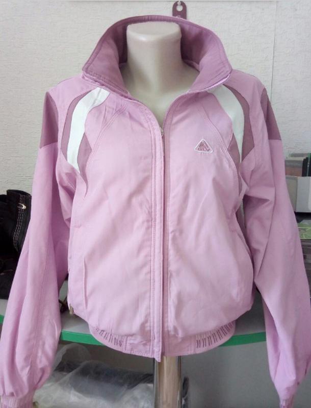 Розовый спортивный костюм, 44 р