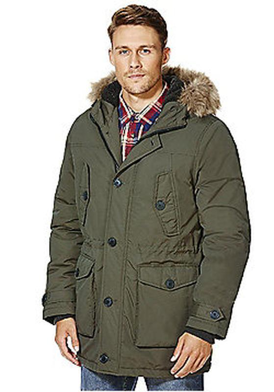 Мужская зимняя куртка парка f&f