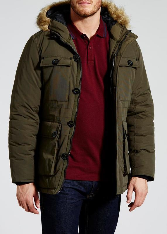 Мужская зимняя куртка парка easy matalan